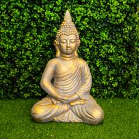 Kaemingk Poly Magnesium Buddha Statue