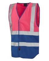 Pilton Dual Colour Reflective Waistcoat