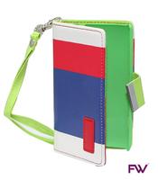 Nokia 520 Folio Red, Navy & White