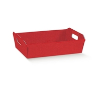 Small Red Tray 220 x 160 x 50mm