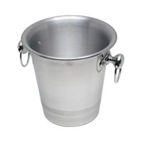 Wine Bucket Ring Handle Aluminium 8 Pint 200mm High190mm Dia