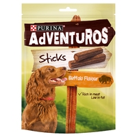 Purina Adventuros Sticks Buffalo Flavour 120g x 6