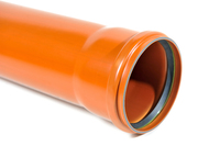 "Wavin 4"" Sewer Pipe Socketed 6M Length"