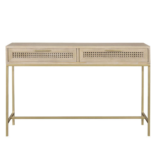 Roundwood Console Table