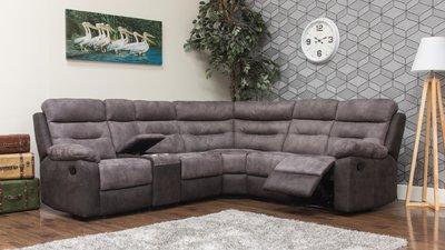 dillon fabric modular sofa charcoal 2