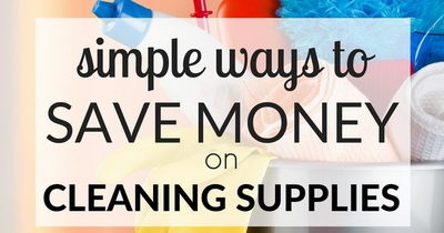 Save money on cleaning supplies!