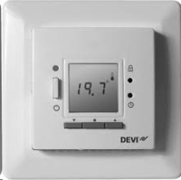 DEVIREG 535 TIMER + THERMOSTAT WHITE