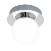 EGLO Mosiano Polished Chrome Single Spot Wall Light LED 1x3.3w | LV1902.0031