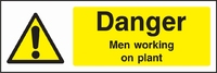 Warning and Machinery Hazard Sign WARN0001-1787