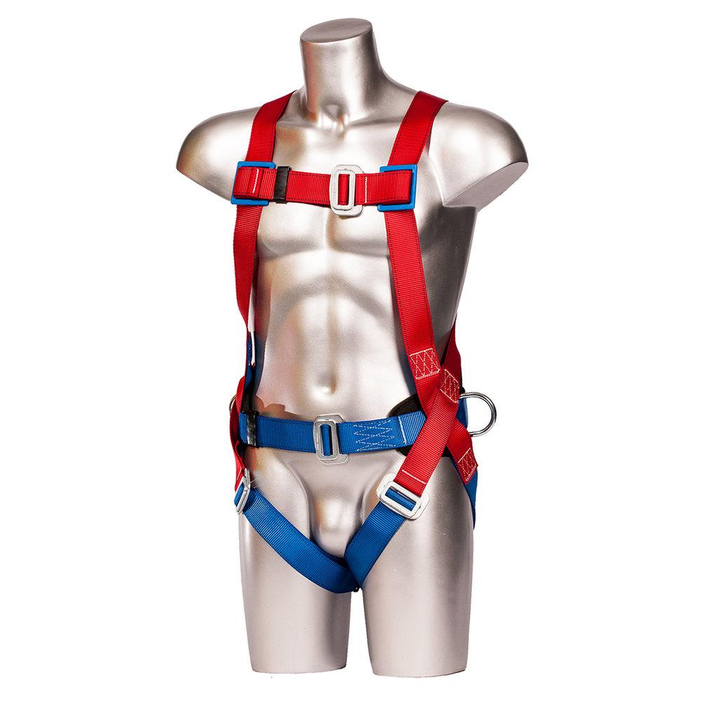 Comfort Portwest FP14RER 2 Point Harness Regular Red//Blue