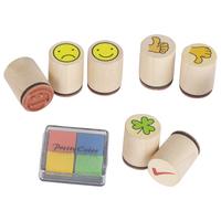 Smile Stamp Set (P/Set Min 1 Set(6 Jars/Set)