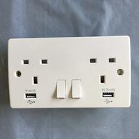 2 Gang USB Socket