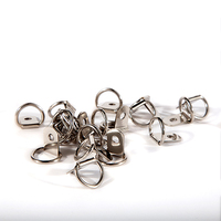 D-Rings, One Hole (Box of 500)