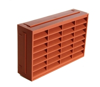 "9 x 6"" Terracotta Air Brick (WT1822)"