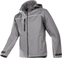 Sioen Homes Laminated softshell jacket with detachable hood