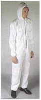 POLYPROP DUST SUIT COVERALL LARGE