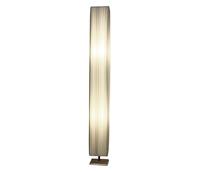 WHITE FABRIC SQUARE FLOOR LAMP 2 x E27 | LV1202.0121