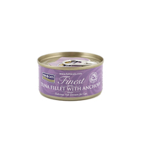 Fish4Cats Cans Tuna Fillet with Anchovy 70g x 10