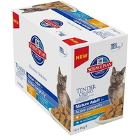 Hill's Pouch Mature Cat Chicken & Fish Selection Multipack 85g x 12