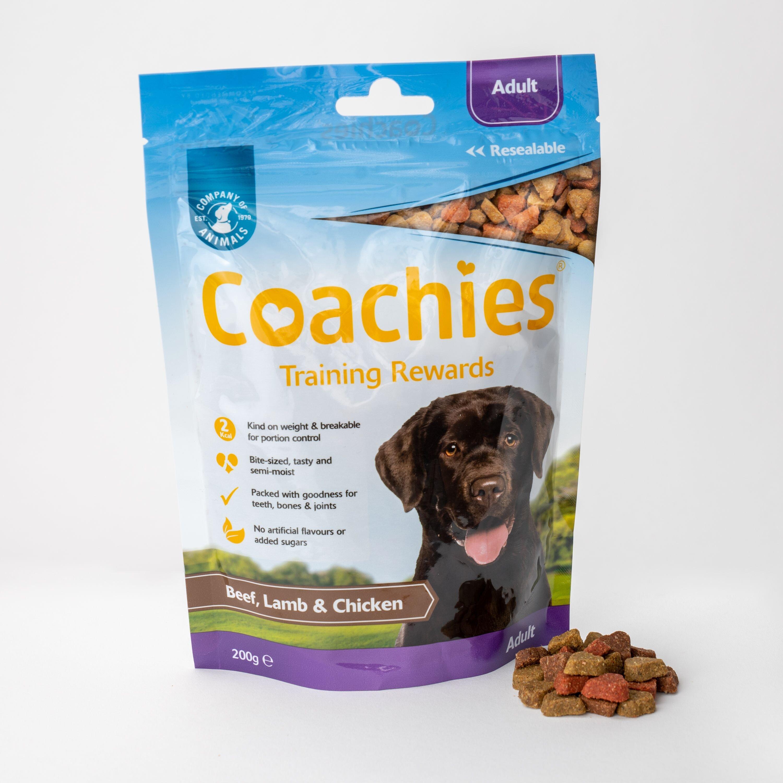 Coachies Training Rewards Adult Dog Treats 8 x 200g