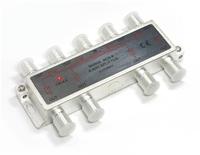 8 Way Splitter 5 - 2400 Mhz  :  Through Power