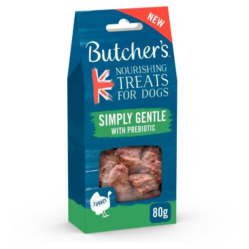 Butcher's Naturally Meaty Treats Simply Gentle 6x80g