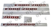 Decal Kit Ford 2000