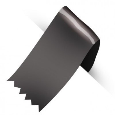 50MM SATINE RIBBON 100YD BLACK
