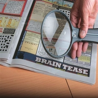Handsfree Magnifier With Light