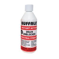 Buffalo Industrial Strength Drain Unblocker 500ml - 97% Sulphuric Acid