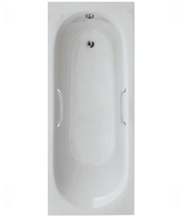 SONAS LOTUS SINGLE ENDED BATH 1700 MM X 700MM X 370 WITH TWIN GRIP HANDLES