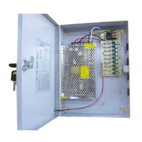 12v 10A 9 Way Box CCTV Power Supply