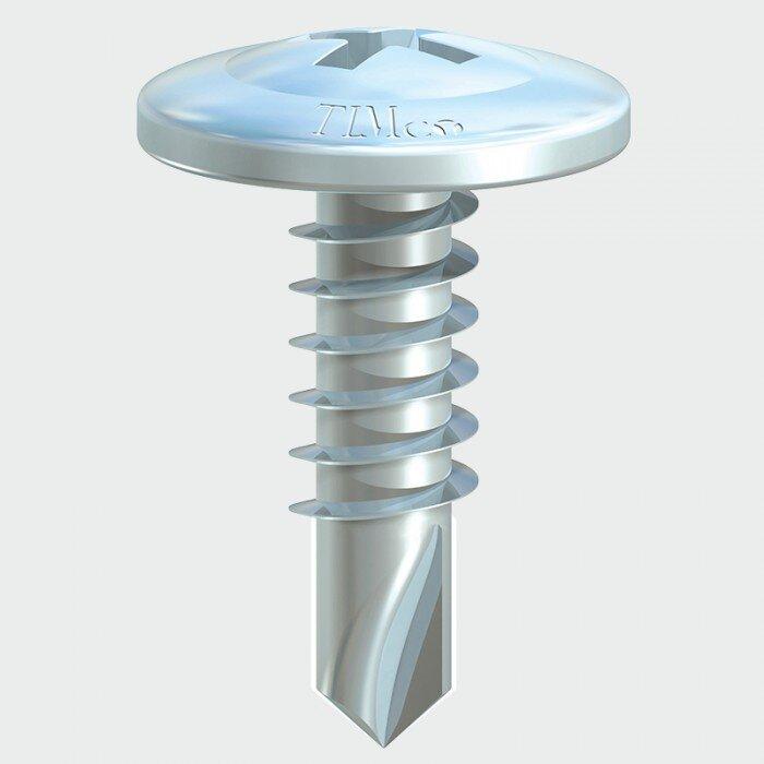 Self Drilling Wafer Head Screws 4.2 x 19mm Box of 1000