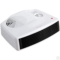 FINE ELEMENTS 3KW FAN HEATER FLAT WITH THERMOSTAT