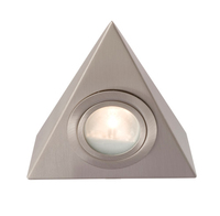 Robus 12V 20W Triangular Cabinet Light Brushed Chrome