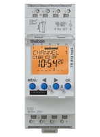 Digital time switch for distribution board