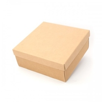BOX GIFT & LID 300X300X60MM  NATURAL