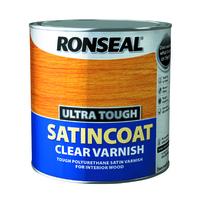 RONSEAL ULTRA TOUGH SATINCOAT CLEAR VARNISH 2.5 LTR