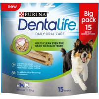 Purina Dentalife Oral Care Sticks Medium 15-Stick Loyalty Pack x 3