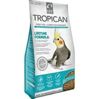 Tropican Lifetime Parrot Food 820g x 1