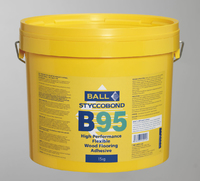 B95 FLEXIBLE WOOD ADHESIVE 15kg (33 PER PLT)