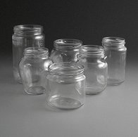 Glass Jars 320ml to 720ml.