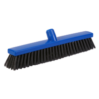 Detectable sweeper - stiff PBT bristle, 400mm, blue