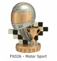 Motor Sport Flex Figure 75mm (Silver & Gold)