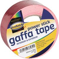 GAFTR50 PROSOLVE GAFFA RED 50MMX50M