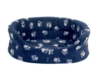 "Danish Design Oval Slumber Bed Navy 35"" x 1"