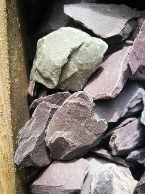 Bulk Bag Plum Crushed Slate 40mm