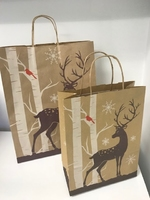 VARIOUS SIZE REINDEER CARRIER BAG