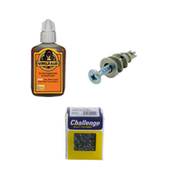 Adhesives, Fixings & Fasteners