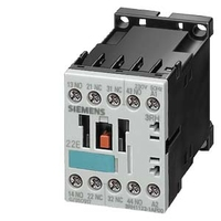 SIEMENS Contactor Relay, 4NO, AC 110 V, 50 HZ, Screw Connection, Size S00